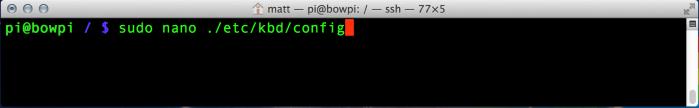 Edit /ect/kbd/config as described above